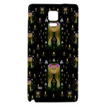 Queen In The Darkest Of Nights Galaxy Note 4 Back Case Front