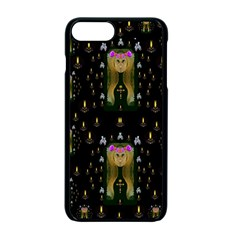 Queen In The Darkest Of Nights Apple Iphone 7 Plus Seamless Case (black)