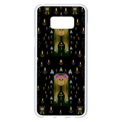 Queen In The Darkest Of Nights Samsung Galaxy S8 Plus White Seamless Case
