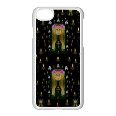 Queen In The Darkest Of Nights Apple Iphone 8 Seamless Case (white)