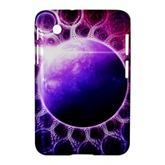 Beautiful Violet Nasa Deep Dream Fractal Mandala Samsung Galaxy Tab 2 (7 ) P3100 Hardshell Case