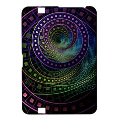 Oz The Great With Technicolor Fractal Rainbow Kindle Fire Hd 8 9