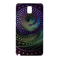 Oz The Great With Technicolor Fractal Rainbow Samsung Galaxy Note 3 N9005 Hardshell Back Case