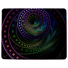 Oz The Great With Technicolor Fractal Rainbow Jigsaw Puzzle Photo Stand (rectangular)