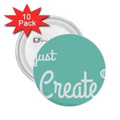 Bloem Logomakr 9f5bze 2 25  Buttons (10 Pack)