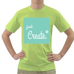 Bloem Logomakr 9f5bze Green T Shirt