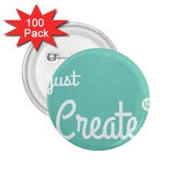 Bloem Logomakr 9f5bze 2 25  Buttons (100 Pack)