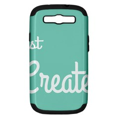 Bloem Logomakr 9f5bze Samsung Galaxy S Iii Hardshell Case (pc+silicone)