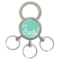 Bloem Logomakr 9f5bze 3 Ring Key Chains