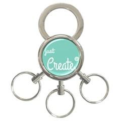 Bloem Logomakr 9f5bze 3 Ring Key Chains