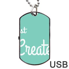 Bloem Logomakr 9f5bze Dog Tag Usb Flash (one Side)