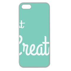 Bloem Logomakr 9f5bze Apple Seamless Iphone 5 Case (clear)