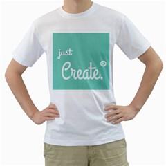 Bloem Logomakr 9f5bze Men s T Shirt (white)