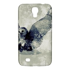 Cute Owl In Watercolor Samsung Galaxy Mega 6 3  I9200 Hardshell Case