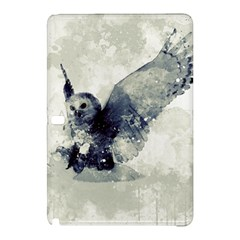 Cute Owl In Watercolor Samsung Galaxy Tab Pro 12 2 Hardshell Case