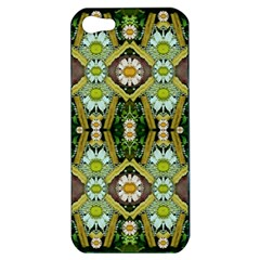Bread Sticks And Fantasy Flowers In A Rainbow Apple Iphone 5 Hardshell Case