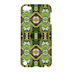 Bread Sticks And Fantasy Flowers In A Rainbow Apple Ipod Touch 5 Hardshell Case