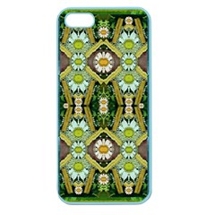 Bread Sticks And Fantasy Flowers In A Rainbow Apple Seamless Iphone 5 Case (color)