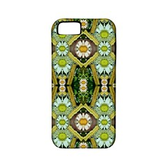 Bread Sticks And Fantasy Flowers In A Rainbow Apple Iphone 5 Classic Hardshell Case (pc+silicone)