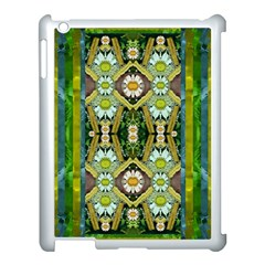 Bread Sticks And Fantasy Flowers In A Rainbow Apple Ipad 3/4 Case (white)