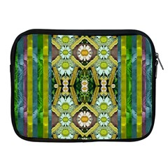 Bread Sticks And Fantasy Flowers In A Rainbow Apple Ipad 2/3/4 Zipper Cases