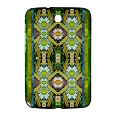 Bread Sticks And Fantasy Flowers In A Rainbow Samsung Galaxy Note 8 0 N5100 Hardshell Case