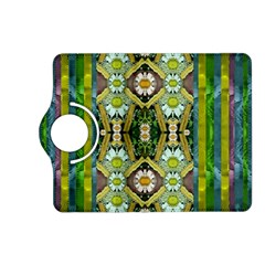 Bread Sticks And Fantasy Flowers In A Rainbow Kindle Fire Hd (2013) Flip 360 Case
