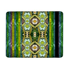 Bread Sticks And Fantasy Flowers In A Rainbow Samsung Galaxy Tab Pro 8 4  Flip Case