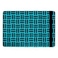 Woven1 Black Marble & Turquoise Colored Pencil Samsung Galaxy Tab Pro 10 1  Flip Case
