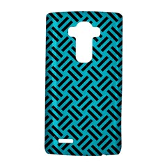 Woven2 Black Marble & Turquoise Colored Pencil Lg G4 Hardshell Case