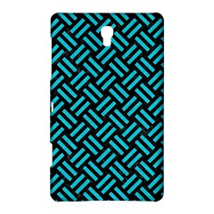 Woven2 Black Marble & Turquoise Colored Pencil (r) Samsung Galaxy Tab S (8 4 ) Hardshell Case