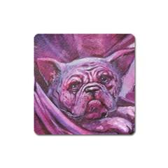 Smart Dog Magnet (square)