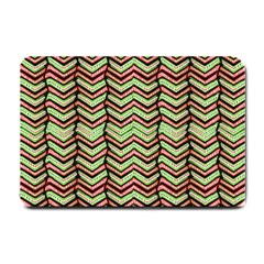 Zig Zag Multicolored Ethnic Pattern Small Doormat