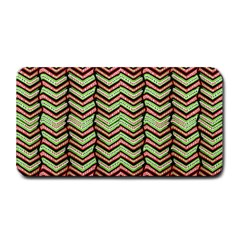 Zig Zag Multicolored Ethnic Pattern Medium Bar Mats
