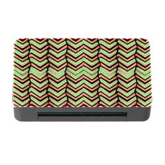 Zig Zag Multicolored Ethnic Pattern Memory Card Reader With Cf