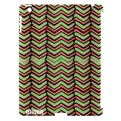 Zig Zag Multicolored Ethnic Pattern Apple Ipad 3/4 Hardshell Case (compatible With Smart Cover)