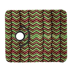 Zig Zag Multicolored Ethnic Pattern Galaxy S3 (flip/folio)