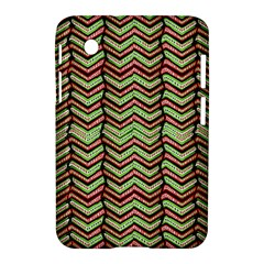 Zig Zag Multicolored Ethnic Pattern Samsung Galaxy Tab 2 (7 ) P3100 Hardshell Case