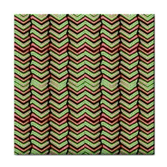 Zig Zag Multicolored Ethnic Pattern Face Towel