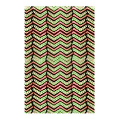 Zig Zag Multicolored Ethnic Pattern Shower Curtain 48  X 72  (small)