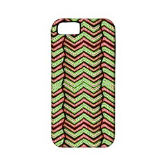Zig Zag Multicolored Ethnic Pattern Apple Iphone 5 Classic Hardshell Case (pc+silicone)