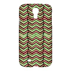 Zig Zag Multicolored Ethnic Pattern Samsung Galaxy S4 I9500/i9505 Hardshell Case