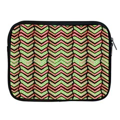 Zig Zag Multicolored Ethnic Pattern Apple Ipad 2/3/4 Zipper Cases