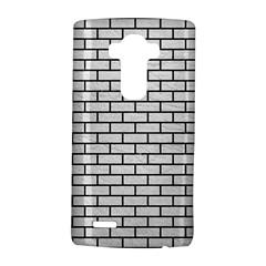 Brick1 Black Marble & White Leather Lg G4 Hardshell Case