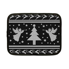Ugly Christmas Sweater Netbook Case (small)