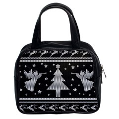 Ugly Christmas Sweater Classic Handbags (2 Sides)
