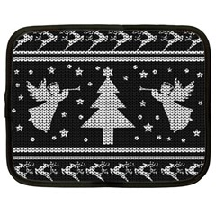 Ugly Christmas Sweater Netbook Case (xl)