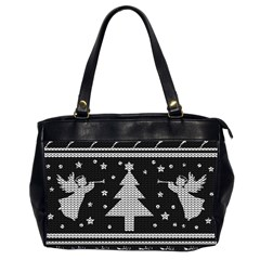 Ugly Christmas Sweater Office Handbags (2 Sides)