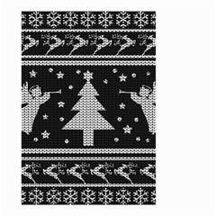 Ugly Christmas Sweater Small Garden Flag (two Sides)