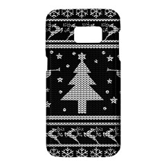 Ugly Christmas Sweater Samsung Galaxy S7 Hardshell Case